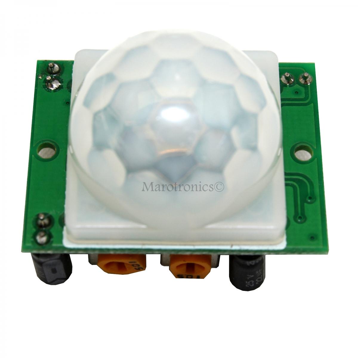 hc sr501 infrarot sensor bewegungsmelder z b f r raspberrypi. Black Bedroom Furniture Sets. Home Design Ideas