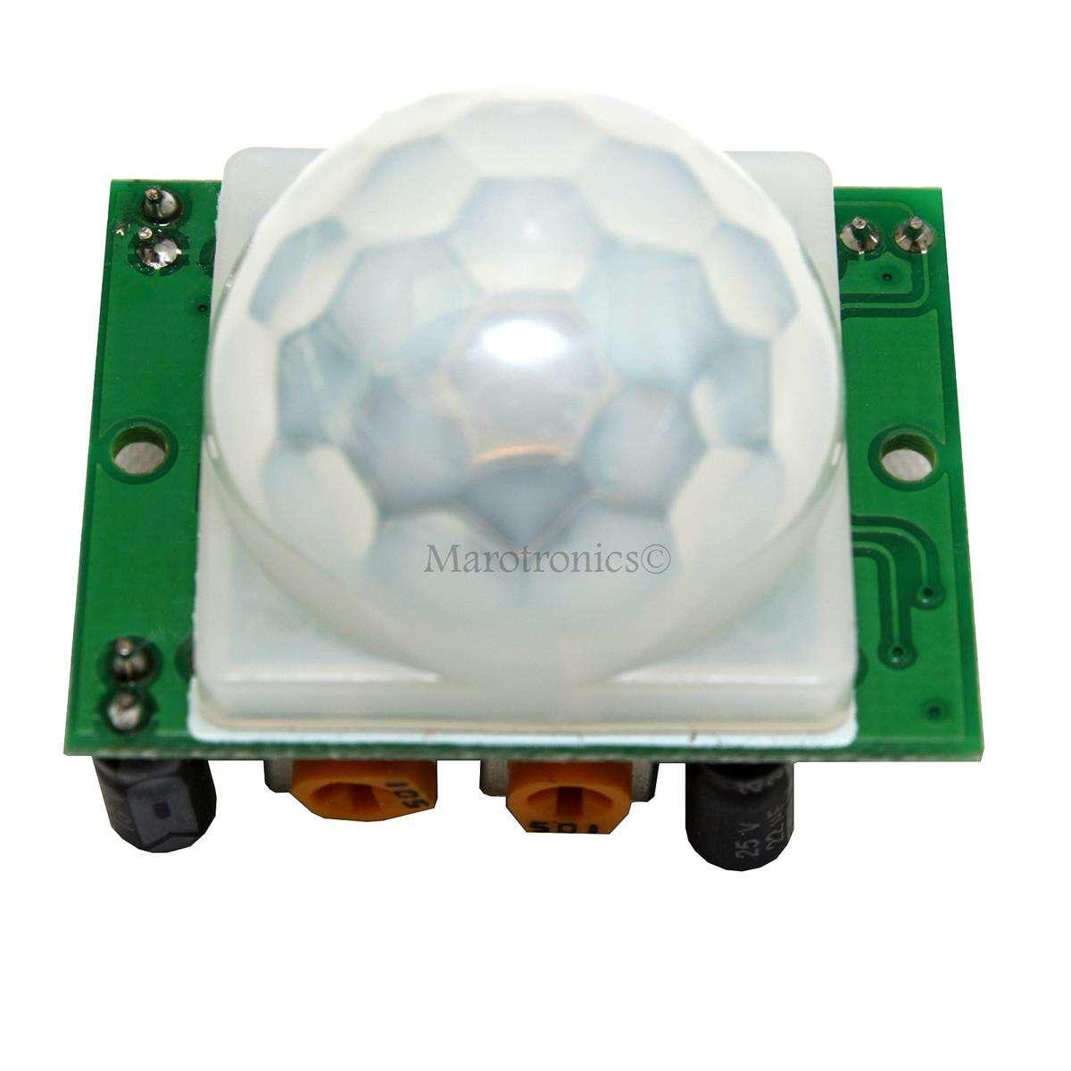 hc sr501 pir infrarot sensor bewegungsmelder z b f r raspberr. Black Bedroom Furniture Sets. Home Design Ideas