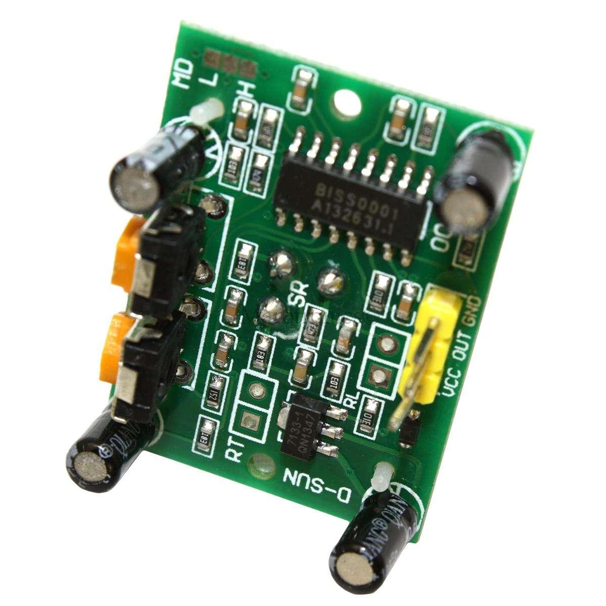 Hc sr pir infrarot sensor bewegungsmelder z b für