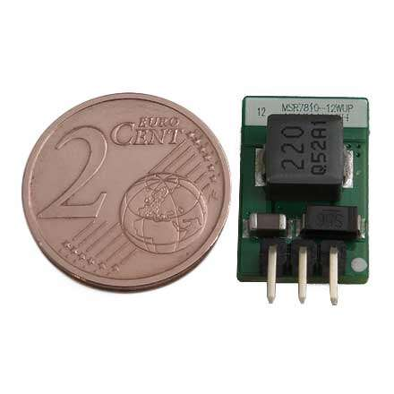 12 V Mini Spannungsregler MSR7810W-12WUP Micro DC-DC Wandler